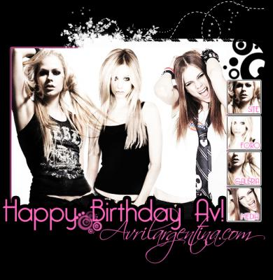 Happy Birthday Avril!!!